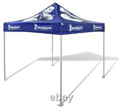 10X10 Custom Logo Art Printed Outdoor Pop Up Canopy Trade Show Party Gazebo Tent