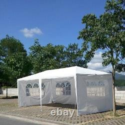 10X20 Canopy Party Tent Heavy Duty Pop Up Wedding Commercial Outdoor Easy Gazebo