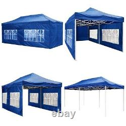 10'x10'/20' FT Party Canopy Tent Outdoor Gazebo Heavy Duty Pavilion Event