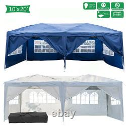 10'x10'/20' Tent Canopy Party Wedding Outdoor Patio Gazebo Removable Wall Cater