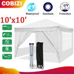 10'x10'x'-EZ Pop UP Party Tent Outdoor Canopy Folding Gazebo Wedding Canopy