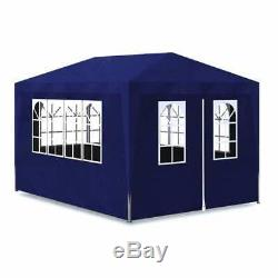 10'x13' Blue Canopy Tent Party Tent Outdoor Gazebo Wedding garden Event