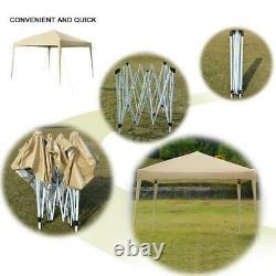 10'x20' Canopy Gazebo Easy Pop Up Waterproof Party Tent Outdoor Wedding Folding