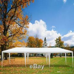 10'x30' Outdoor White Canopy Party Wedding Tent Heavy Duty Gazebo FREE SHIPPING