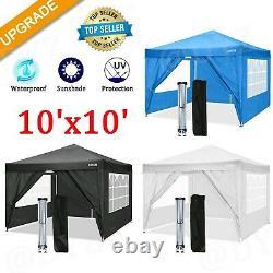 10'x 10'' EZ Pop UP Party Tent Outdoor Canopy Folding Gazebo Wedding Canopy3