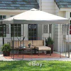 10' x 10' Patio Canopy Gazebo Outdoor Home Furniture Structure Garden Backyard
