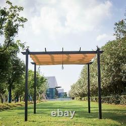 10' x 10' Patio Grill Gazebo Pergola Outdoor Canopy Party BBQ Garden Pool Tents