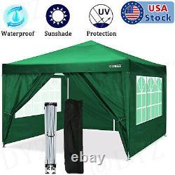 10'x 10'x20' EZ Pop UP Party Tent Outdoor Canopy Folding Gazebo Wedding Canopy