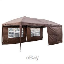 10' x 20' Garden Folding Tent Outdoor Marquee Sunshade Wedding Gazebo Party Yard