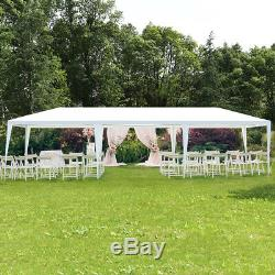 10' x 30' Outdoor Wedding Party Event Tent Gazebo Canopy Duty Protection