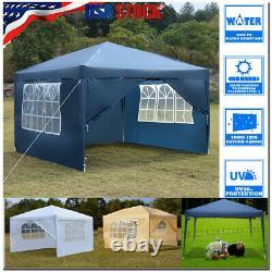 10x10EZ Durable Canopy Party EZ Outdoor Wedding Tent Gazebo with Windows US