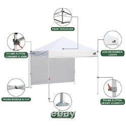10x10 Smart Ez Pop Up Canopy Outdoor Event Craft Show Gazebo Wedding Party Tent