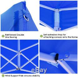 10x10 ft Pop Up Canopy Outdoor Instant Folding Tent Party Wedding Gazebo 420D