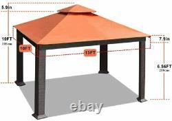 10x13ft 12x12 Aliminum Patio Gazebo Outdoor Garden Home Backyard Party Tent