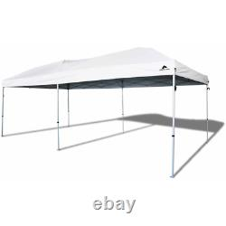 10x20 Canopy Tent Outdoor EZ Pop Up Gazebo Party Wedding Instant Shelter White