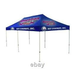 10x20 Custom Pop Up Outdoor Canopy Tent Gazebo with Full Color Print