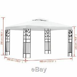 118.1x157.5 Garden Gazebo Tent Marquee Outdoor Waterproof Canopy Party Wedding