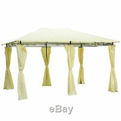 13x 10 Gazebo Canopy Shelter Patio Party Tent Outdoor Awning WithSide Walls