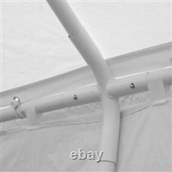 20x30 Heavy Duty Outdoor Canopy Wedding Tent Sun Shade Gazebo With Windows ALEKO