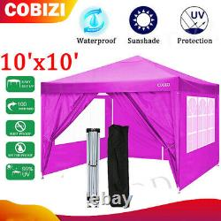 2-IN-1^10'x10' Outdoor Canopy Tent, Pop Up Canopy and Gazebo Portable Party-Hot