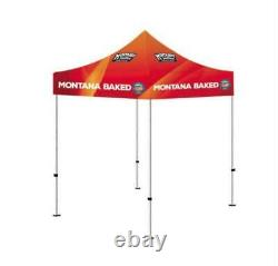 5x5 Custom Pop Up Outdoor Canopy Tent Gazebo with Full Color Print