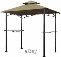 8X5 Grill Gazebo Shelter For Patio Outdoor Garden Camping Living BBQ Tent
