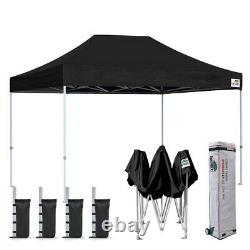 8x12 Easy Pop Up Canopy Gazebo Outdoor Party Sports Wedding Tent Vendor Shelter
