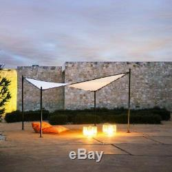 Abba Patio 12x12ft Canopy Outdoor Soft Top Butterfly Gazebo for Patio, Garden