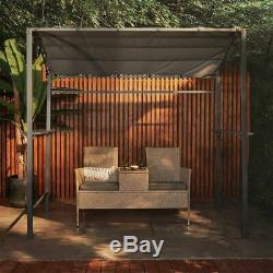 Barbecue Canopy 7.5ft BBQ Gazebo Shelter Outdoor Patio Tent with Steel Frame