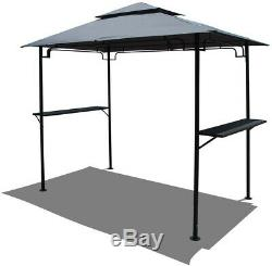 COBANA Grill Gazebo 8by 5Outdoor, Steel Frame Patio Backyard BBQ Grill Shelter