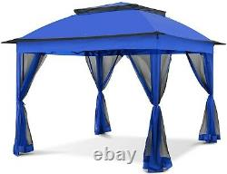 COOL Spot 11'x11' Pop-Up Gazebo Tent Instant with Mosquito Netting Outdoor Gazeb