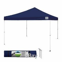 Canopy Tent 12x12 Outdoor Pop Up Ez Gazebo Patio Beach Sun Shade Navy Blue NEW