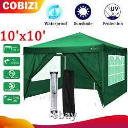 Cobizi 10'x10' 2IN1 Outdoor Canopy Tent, Canopy an-Gazebo Portable Party-6Colors