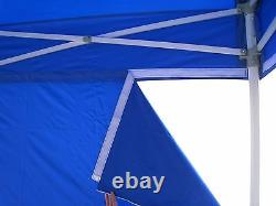 Ez POP UP Canopy 10x10 Heavy Duty Outdoor Gazebo Party Tent with4 Walls&Roller Bag