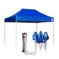 Ez Pop Up Canopy 8x12 Outdoor Wedding Tent Vendor Fair Sports Gazebo Shelter