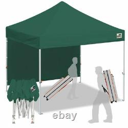 Forest Green10x10 Smart Pop Up Canopy Outdoor Event Craft Show Gazebo Party Tent