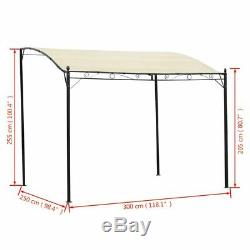 Garden Gazebo Sun Shade Canopy Yard Marquee Party Wedding Tent Outdoor 9.8'x8.2