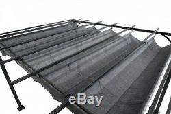 Garden Pergola Gazebo Canopy Outdoor Sun Shade Cover 10X8 Patio Steel Furniture