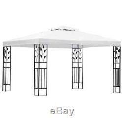 Gazebo White Patio Outdoor Garden Marquee Party Wedding Canopy Shade 118.1x157