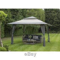 Got It Covered 4m x 4m Steel Pop-Up Gazebo Wedding Party Outdoor Shade