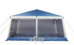 Gran Instant Gazebo Outdoor Canopy XL 20x20 Ft With Screen Anti Mosquito Netting