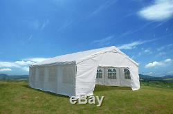 Heavy Duty Party Tent 20x26 Carport Outdoor Wedding Canopy Xmas Parties With Side