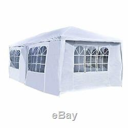 Heavy Duty Portable Garage Carport Car Shelter Outdoor Canopy Tent 10'X20' White