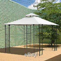 Huge Outside Shaded Deck Pergola with Super Easy Installation & Sturdy Steel Frame