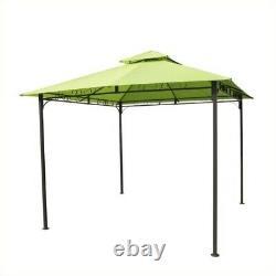 International Caravan Hamilton Outdoor Canopy Gazebo in Lime Green