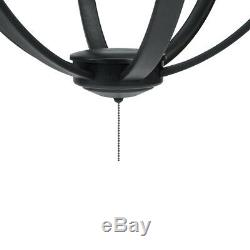LED Outdoor Chandelier Light with Remote Control Perfect for Gazebo or Patio