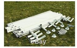 NEW Carport White Portable Garage Steel Frame Car Shelter Outdoor Car Canopy She