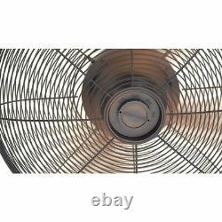 NEW Ceiling Fan Outdoor Bronze Oil Rub Pavilion Patio Lodge Cabin Porch Gazebo
