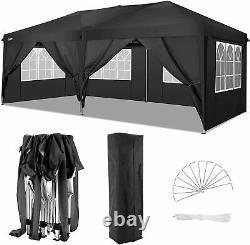 New COBIZI 10'x10'/20' 2 IN 1 Outdoor Gazebo Pop Up Tent Canopy Pavilion Event
