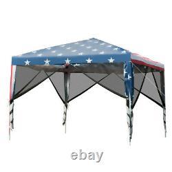 Outdoor 10' x 10' Pop-up Canopy Tent Gazebo Canopy